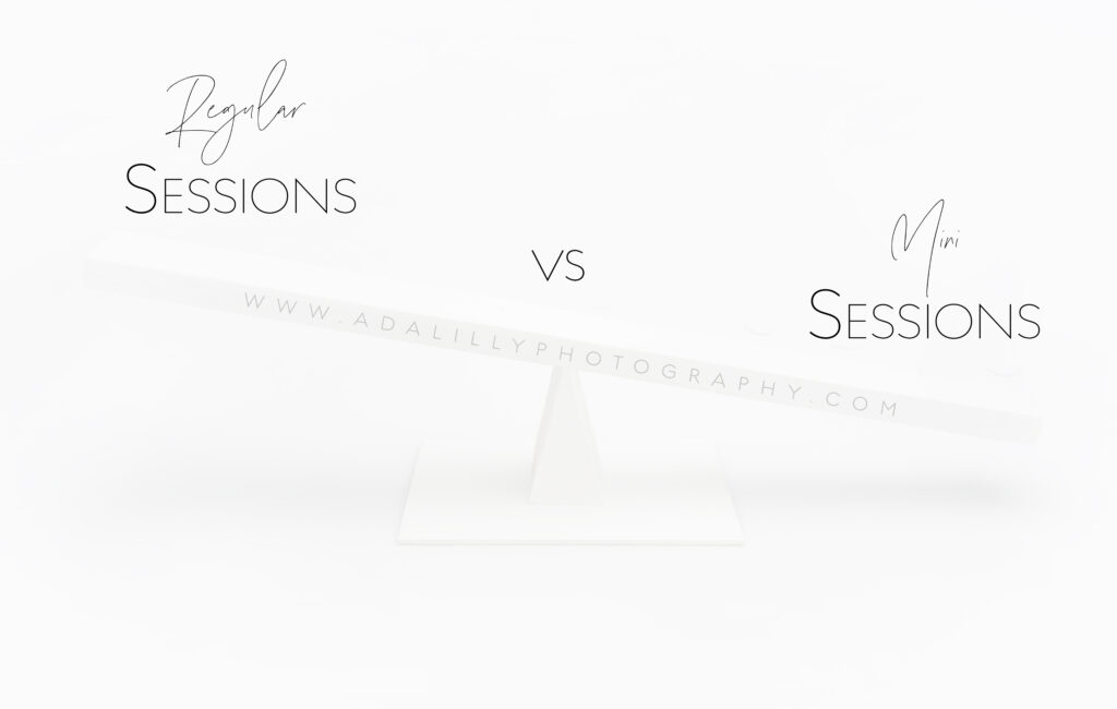 ***REGULAR VS MINI SESSIONS***