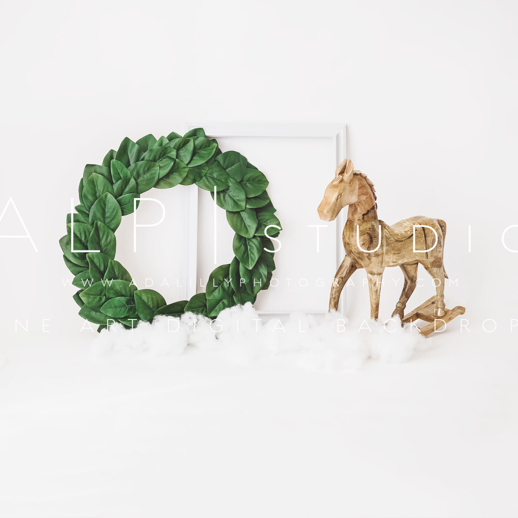 ALP MAGNOLIA HORSE - $15
